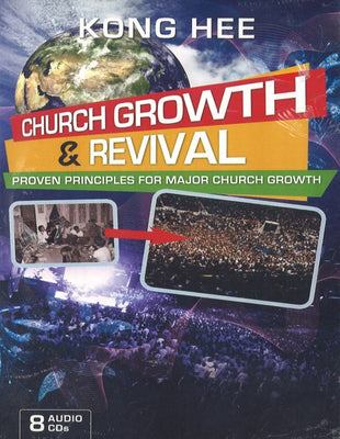 Church Growth and Revival: Proven Principles for Major Church Growth, 8MP3, English