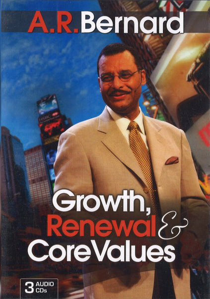 Growth, Renewal & Core Values, 3CD, English