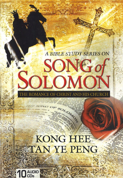 Song of Solomon: The Romance of Christ and His Church, 10CD, English