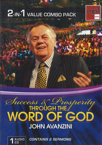 Success & Prosperity Through the Word of God, 1CD, English