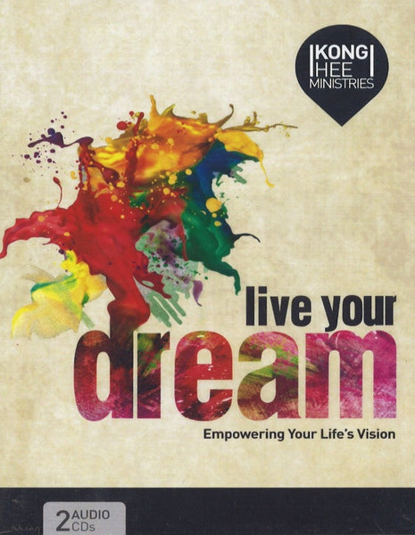 Live Your Dream: Empowering Your Life's Vision, 2CD, English