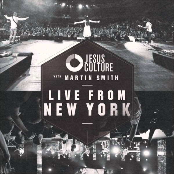 Live From New York, Jesus Culture, 2CD, English