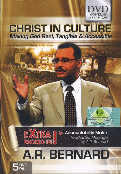 Christ in Culture, 5DVD, English