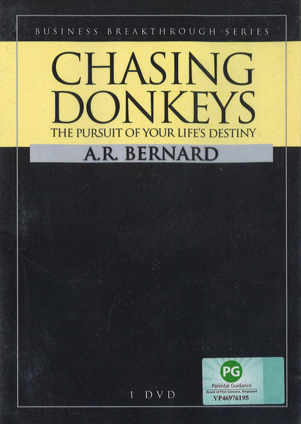 Chasing Donkeys: The Pursuit of Your Life's Destiny, 1DVD, English