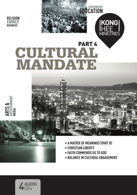 Cultural Mandate (New Cover) Part 4, 4CD, English
