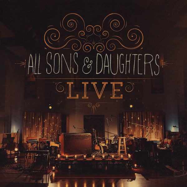 All Sons & Daughters Live, 1CD/1DVD, English