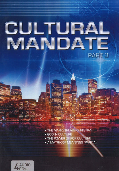 Cultural Mandate (Blue Cover) Part 3, 4CD, English