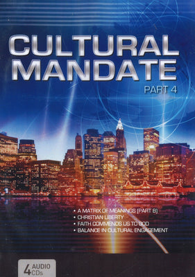Cultural Mandate (Blue Cover) Part 4, 4CD, English