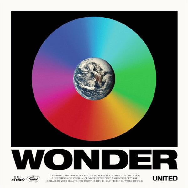 Wonder, Hillsong United, 1CD, English