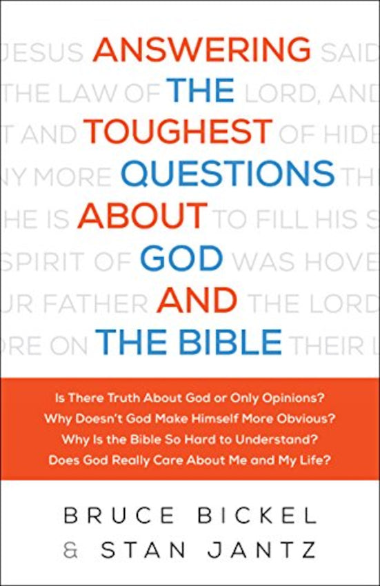 Answering The Toughest Questions About God and Bible, Paperback