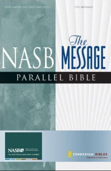 NASB/MSG Parallel Bible, Hardcover, English
