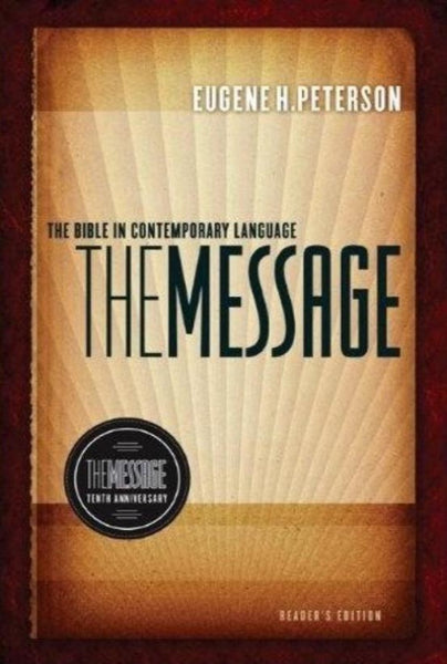 MSG The Message 10th Anniversary Reader's Edition, Hardcover, English