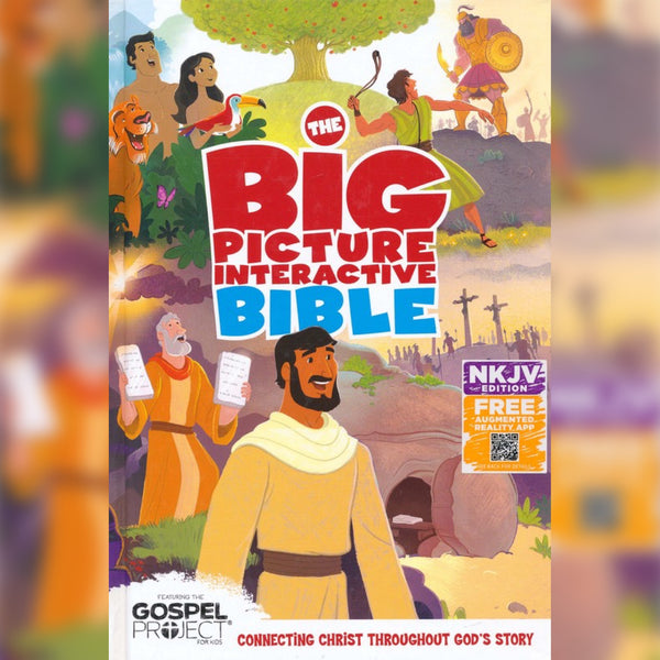 NKJV The Big Picture Interactive Bible, Hardcover, English