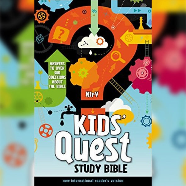 NIrV Kids' Quest Study Bible, Hardcover, English