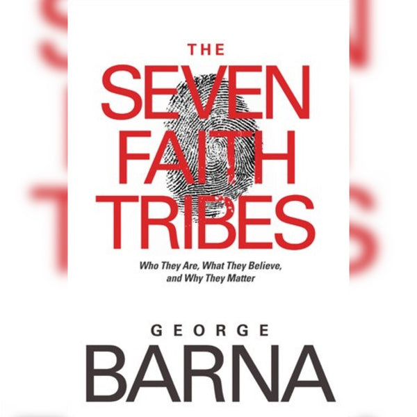 The Seven Faith Tribes, Hardcover, English