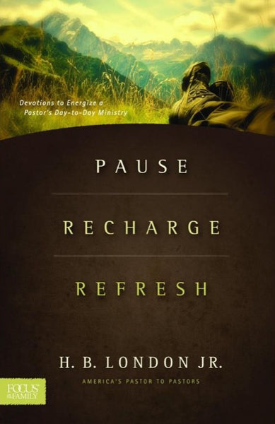 Pause Recharge Refresh, Hardcover, English