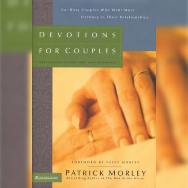 Devotions for Couples, Hardcover, English