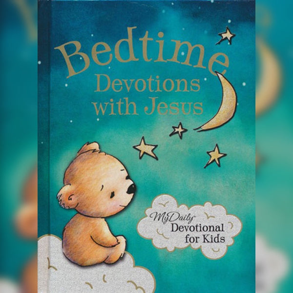 Bedtime Devotions with Jesus, Hardcover, English