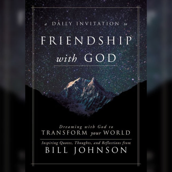 A Daily Invitation to Friendship with God, Hardcover, English