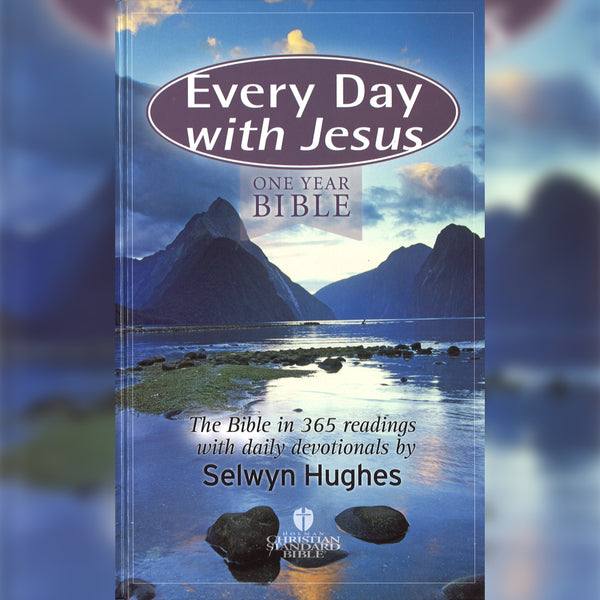 Every Day with Jesus: One Year Bible, Hardcover, English