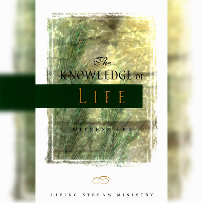 The Knowledge of Life, Paperback, English