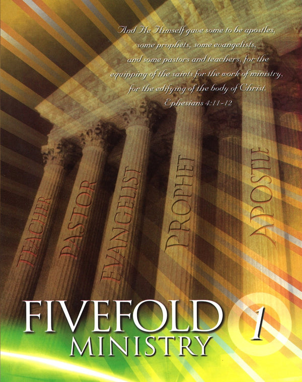 Five-Fold Ministry 1 (Student), Paperback, English
