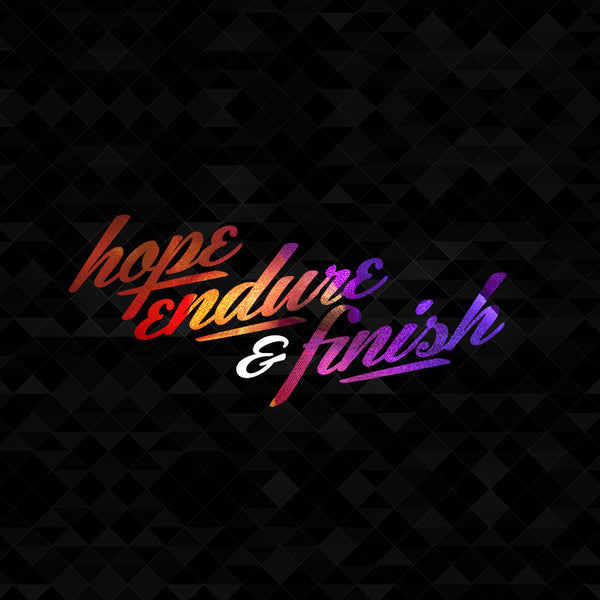 20140907 Hope, Endure & Finish, MP3, English