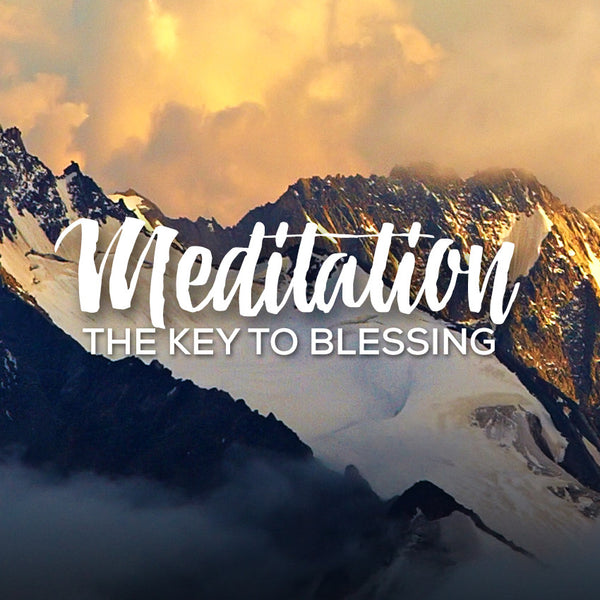 Meditation Part 1: The Key to Blessing Part 1 (16 Jan 2016), MP3, English