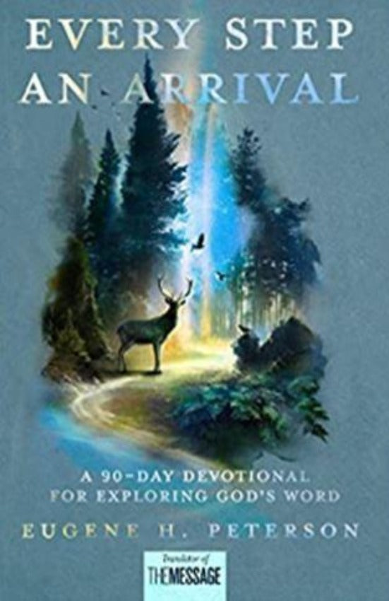 Every Step an Arrival Devotional, Hardcover
