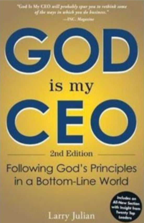 God Is My CEO, Paperback