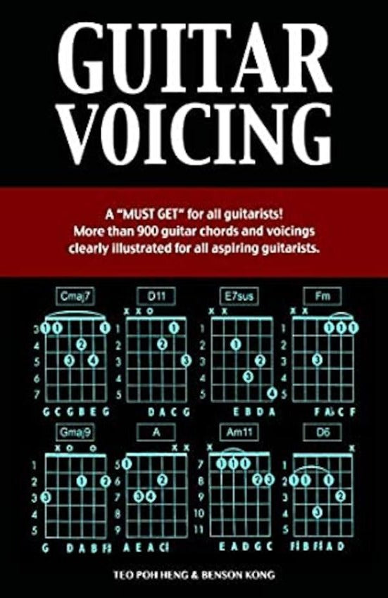 Guitar Voicing, Paperback
