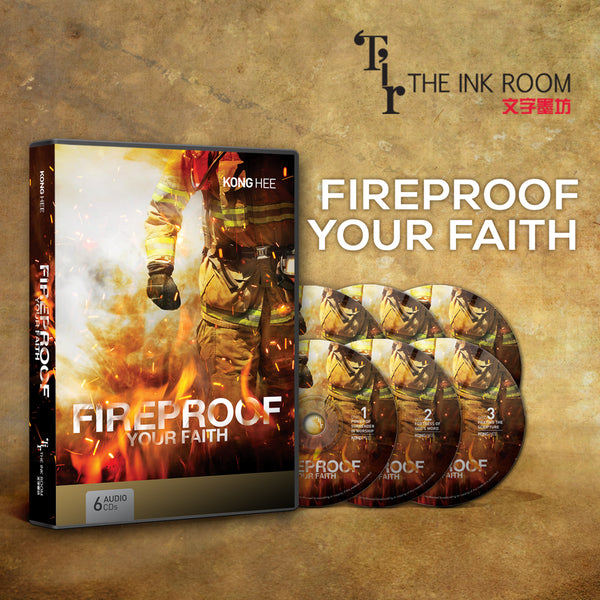 Fireproof Your Faith, 6CD, English