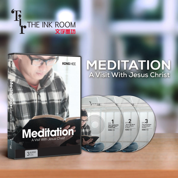 Meditation: A Visit With Jesus Christ, 3CD, English