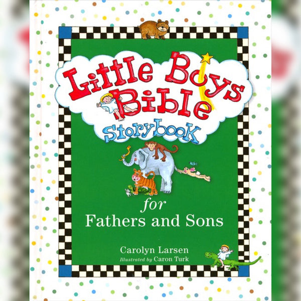 Little Boys Bible Storybook: For Fathers and Sons, Hardcover, English