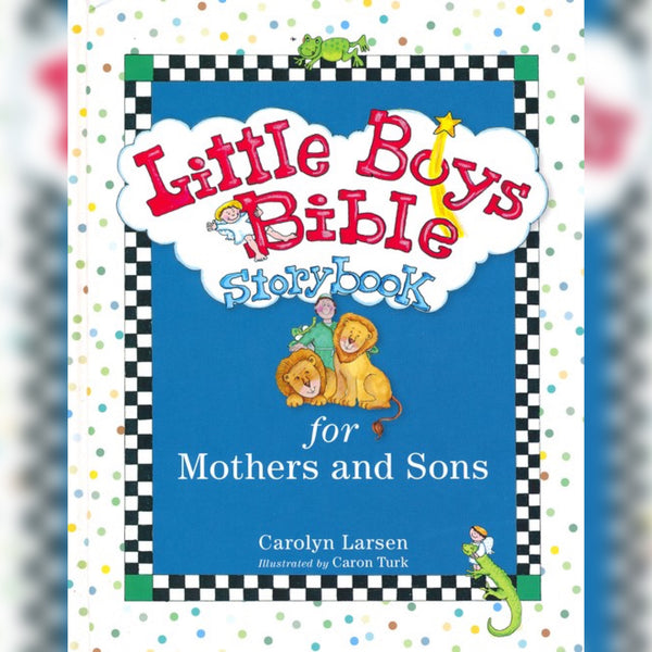 Little Boys Bible Storybook: For Mothers and Sons, Hardcover, English