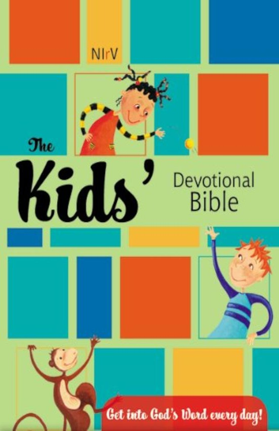 NIrV, The Kids Devotional Bible
