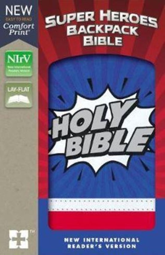 Super Heroes Backpack Bible