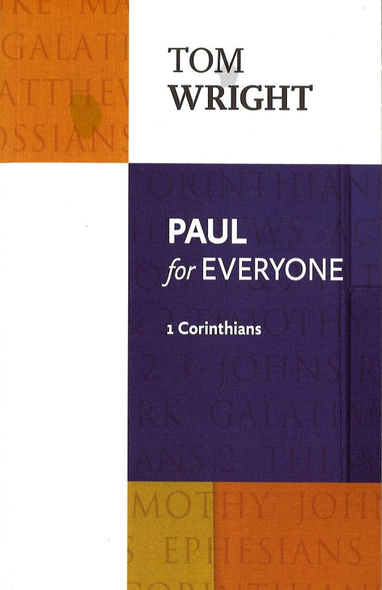 Paul for Everyone, 1 Corinthians, Paperback