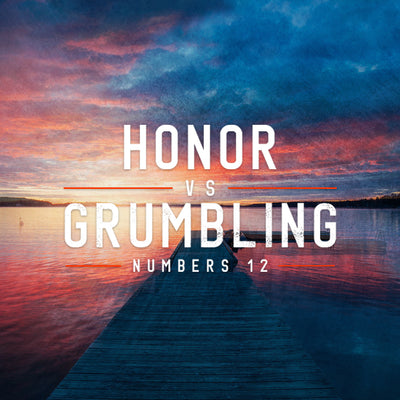 20180728 Numbers 12: Honor vs Grumbling, MP3, English