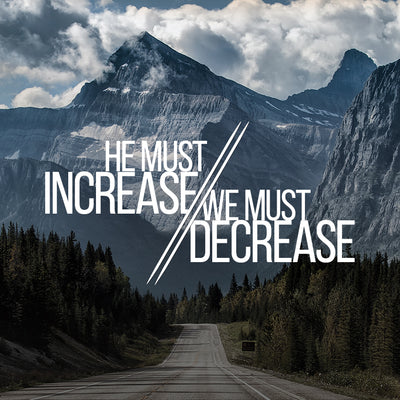 He Must Increase I Must Decrease (08 Oct 2017), MP3, English