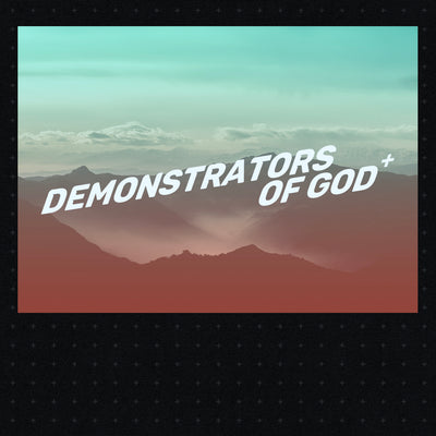 20190721 Demonstrators of God, MP3, English