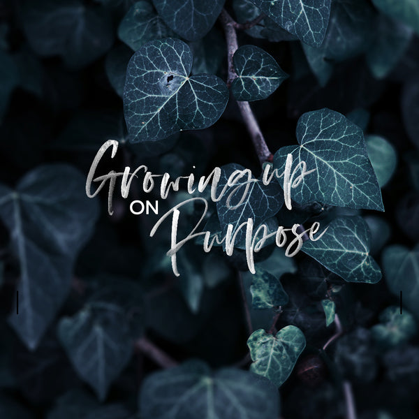 20180520 Growing Up On Purpose, MP3, English