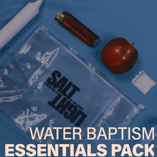Water Baptism Essentials Pack