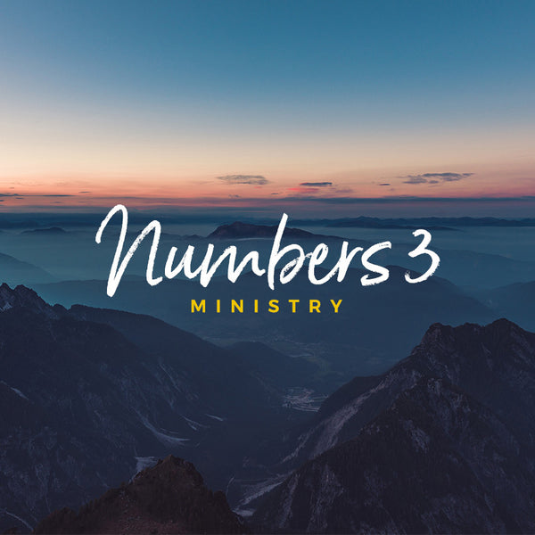 20170723 Numbers 3 (Part 1): Ministry, MP3, English