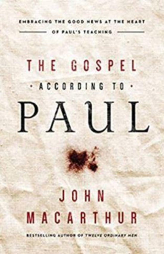 The Gospel According to Paul, Paperback