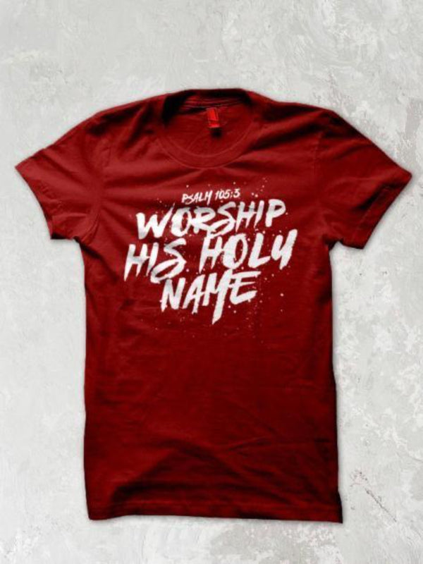 KAPP T-shirt - Worship His Holy Name