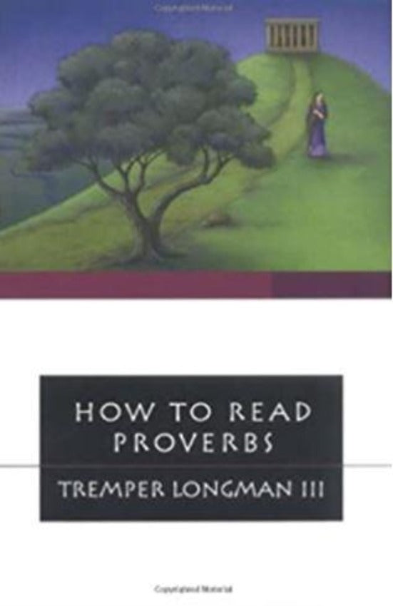 How to Read Proverbs, Paperback