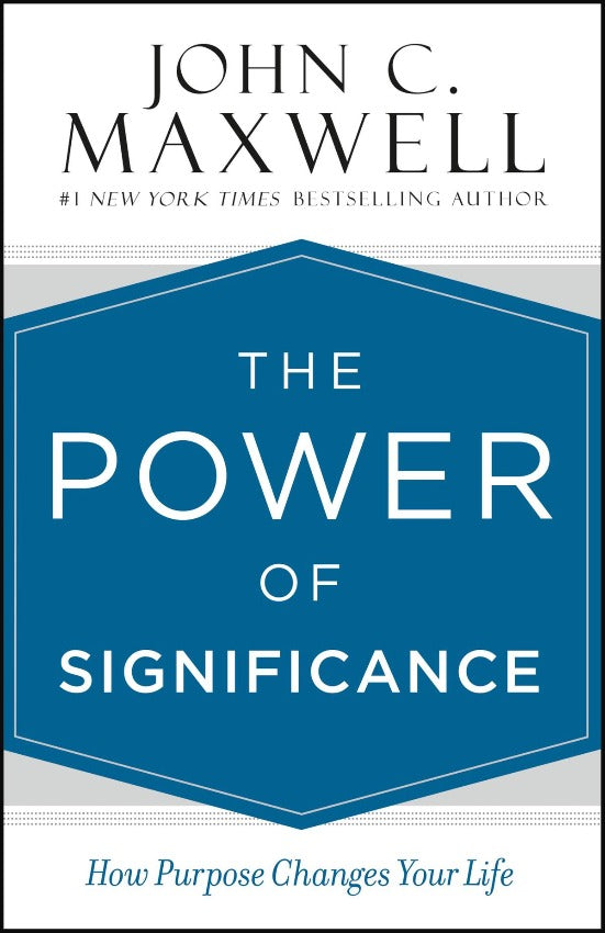 The Power of Significance, Hardcover