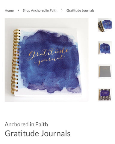 Introducing the New Anchored In Faith Journals