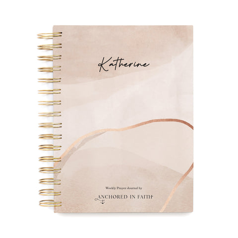 Personalized Weekly Prayer Journal